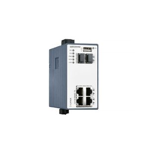 L206-F2G Managed Ethernet Switch with Routing Functionality