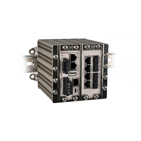 RFI-211-F4G-T7G Industrial Routing Switch