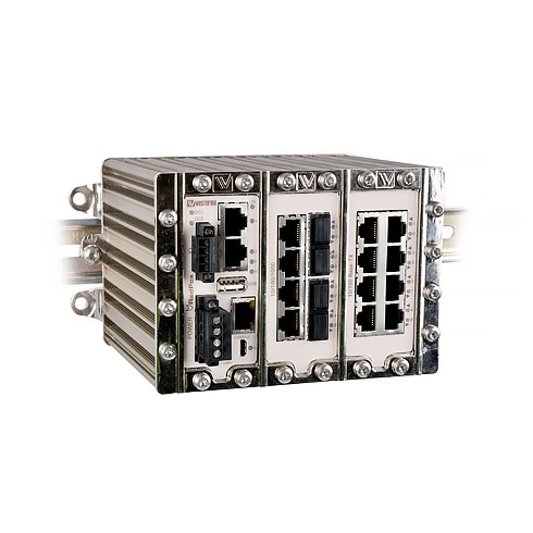 RFI-219-F4G-T7G Industrial Routing Switch