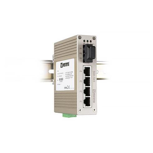 SDI-541-SM-SC30 Compact 4-port Ethernet Fibre Switch