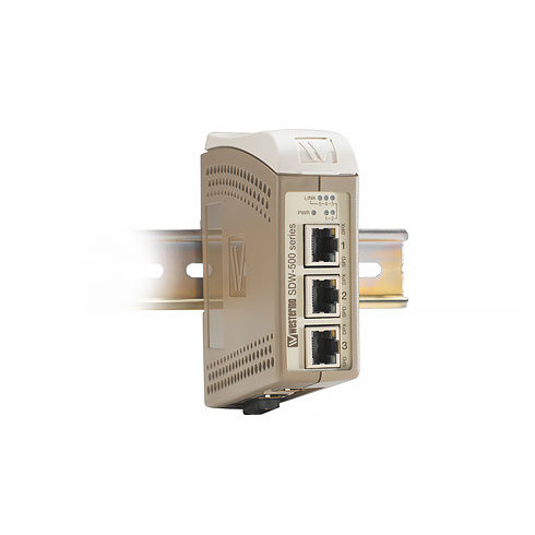 SDW-532-SM-LC40 Industrial Ethernet 5-port Switch