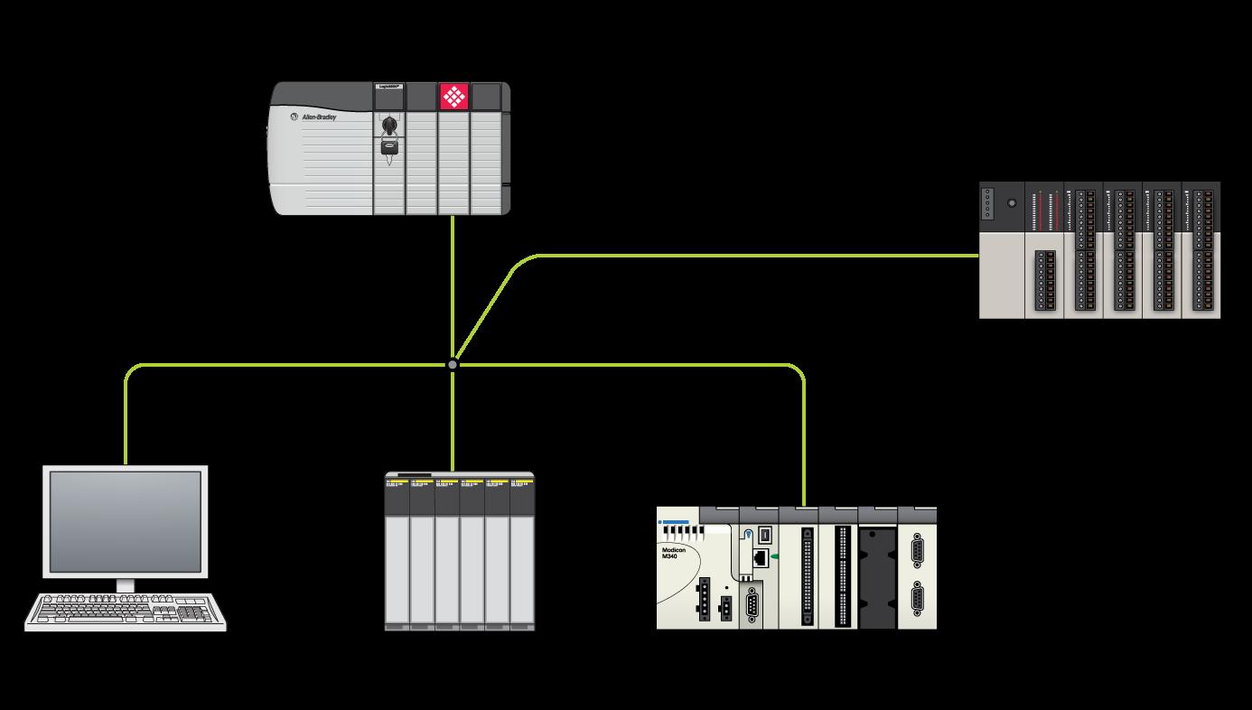 Schematic MVI56E MNET