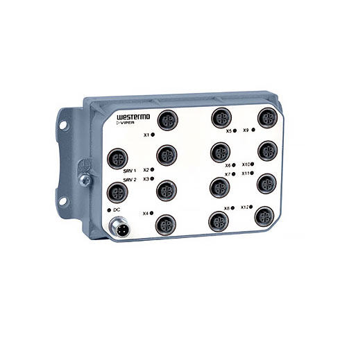 VIPER-012 Unmanaged EN 50155 Switch