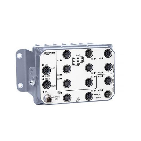 VIPER-112A-P8-HV EN 50155 Managed PoE Switch