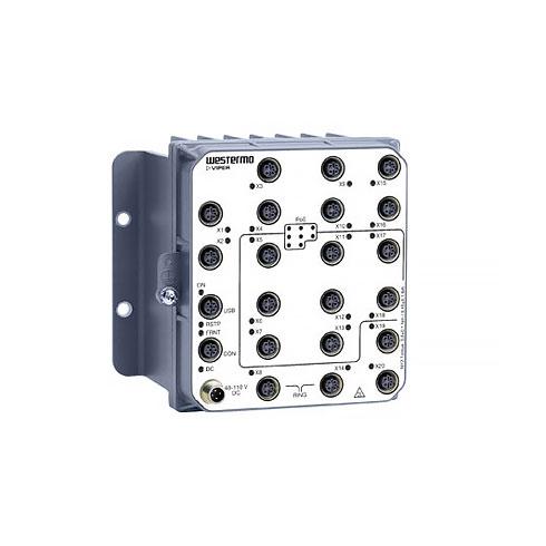 VIPER-120A-P8-HV EN 50155 Managed PoE Switch