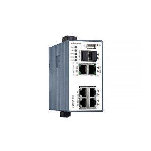 L108-F2G-S2-12VDC Managed Device Server Switch