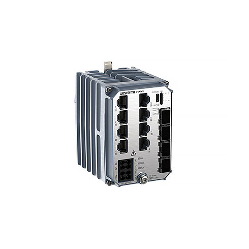LYNX-5612-F4G-T8G-LV DIN-rail Substation Automation Switch